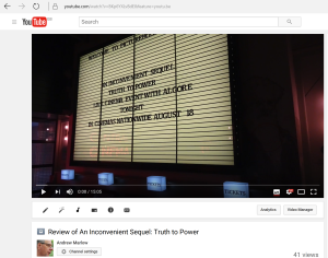 Film Review - An Inconvenient Sequel: Truth toPower