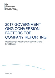 UK Methodology Paper for GHG Conversion Factors for Company Reporting 2017