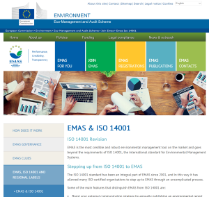 EMAS Revision provides the ISO 14001:2015 Clause requirements for a free download
