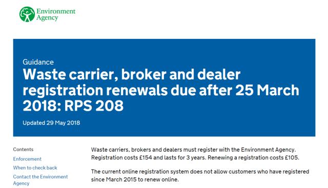 PRS 208 - Registration Extension - Aug 2018