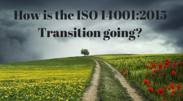 How is the ISO 14001:2015 Transition going?
